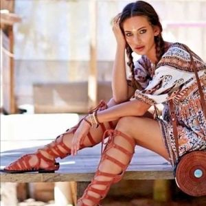 NEW Free People Cypress Gladiator Boot  11